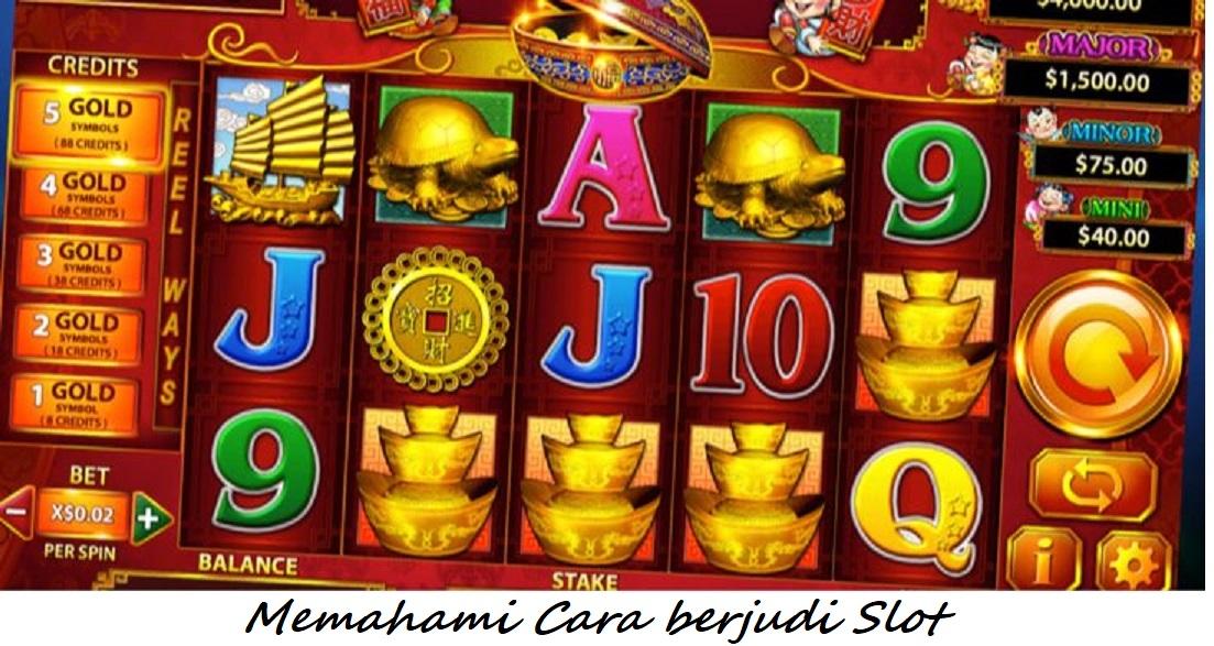 Memahami Cara berjudi Slot
