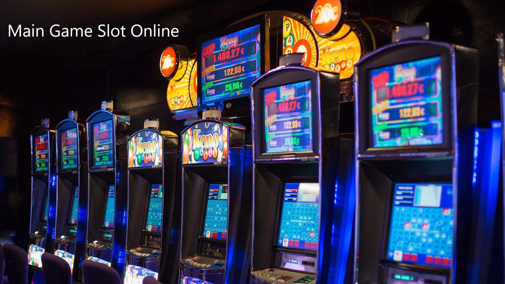 Slot Mesin Via Online